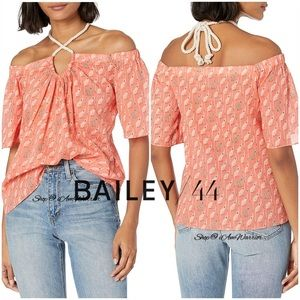 Bailey/44 NWT Monkey print off the shoulder top